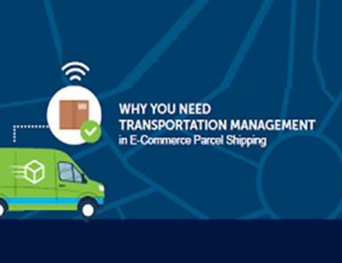 قدرت مدیریت حملونقل برای حمل بسته در تجارت الکترونیک
