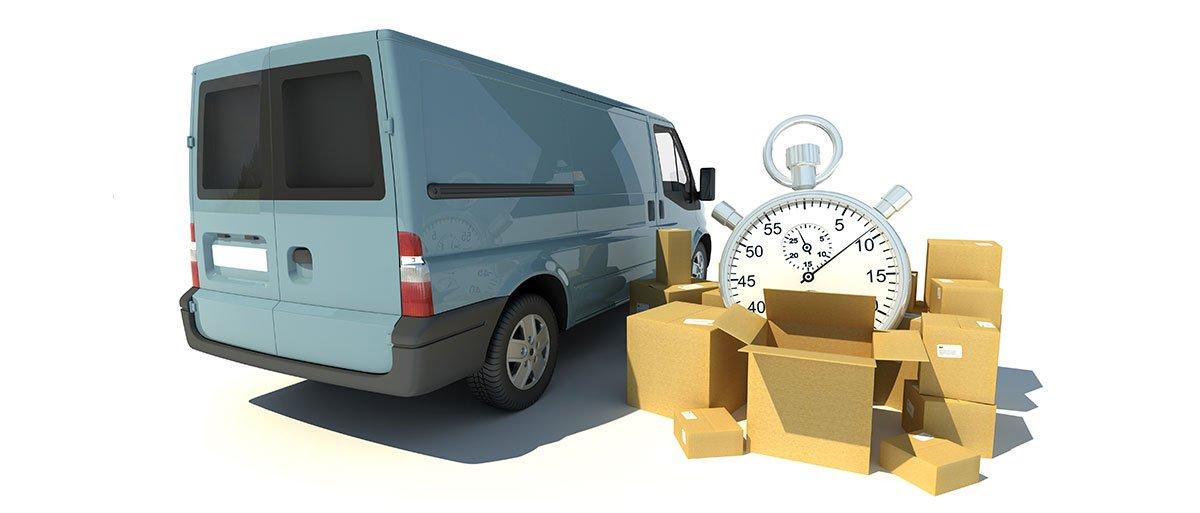یکی از اهداف اصلی مدیریت بجستیک، تحویل به موقع کالا به مشتری است.
