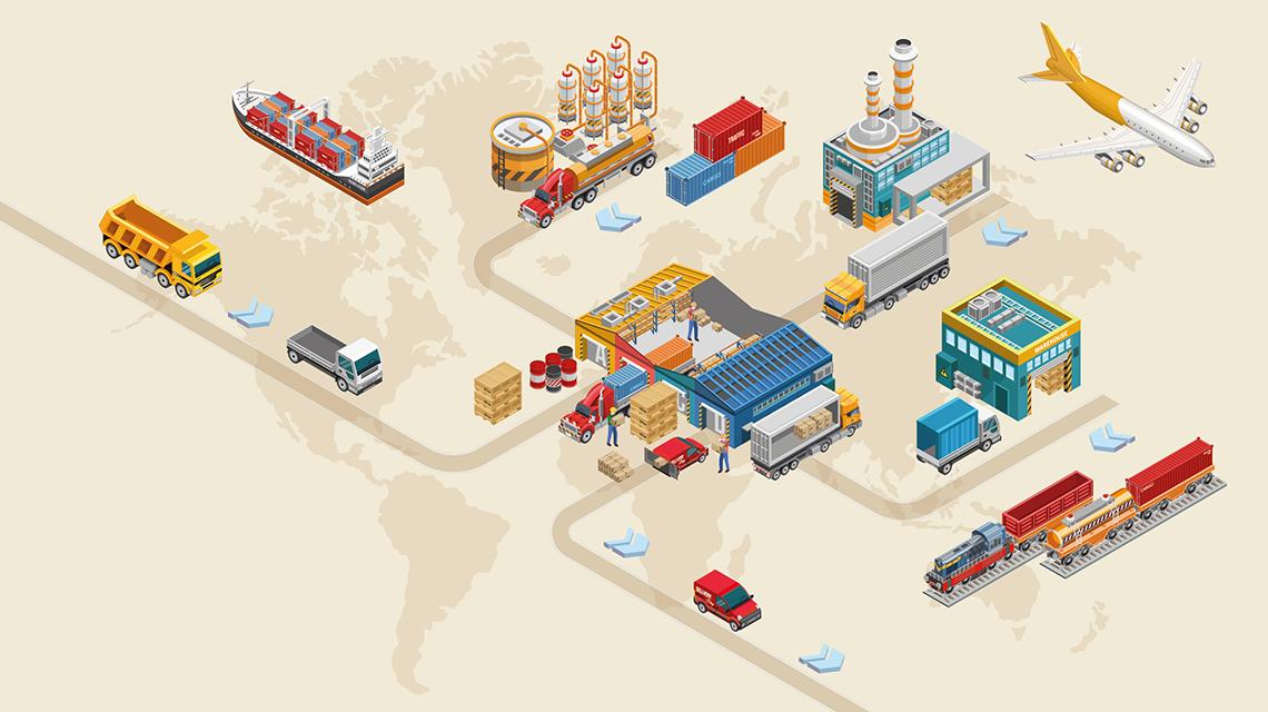 هدف اصلی زنجیره تامین برآورده سازی نیاز مشتریان و پاسخگویی سریع به نیازهای آن هاست.