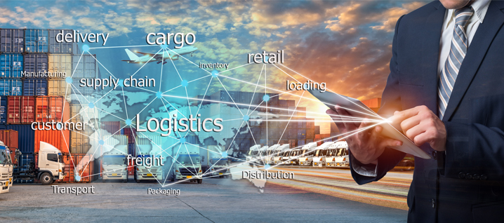 جریان کالا و مواد در هر شبکه توسط بخش لجستیک مدیریت میشود.