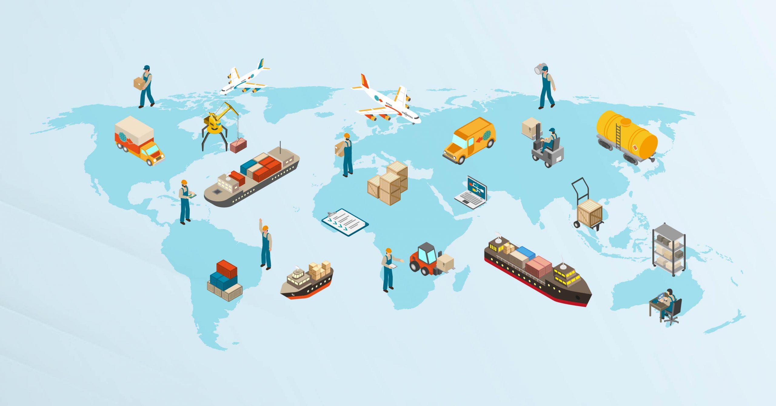 در زنجیره تأمین جهانی از بازار سایر کشورها برای ادامه حیات اقتصادی استفاده خواهد شد.