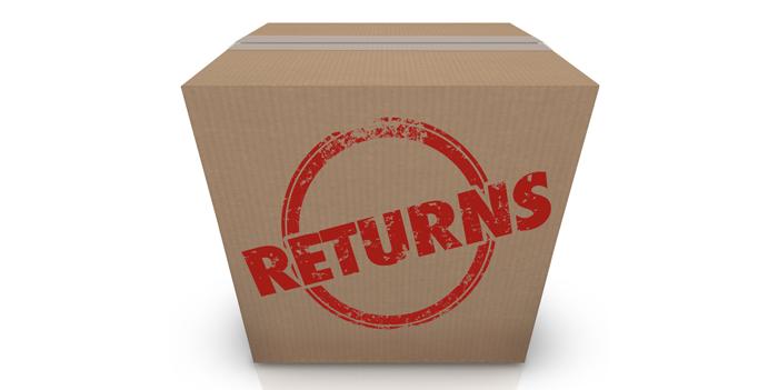 در لجستیک معکوس، بازگشتی ها از سوی مشتری به سمت تامین کننده ارسال می شوند.