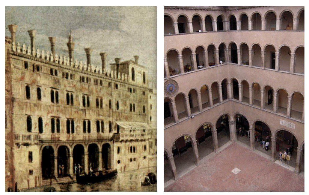 اولین انبارهای تجاری در شهر ونیز ساخنه شد.