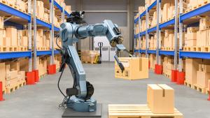 پیادهسازی فناوری روباتیک یکی از سریعترین راهکارها جهت ایجاد انباری هوشمند است و ایمنی را نیز در انبار تضمین میکند.