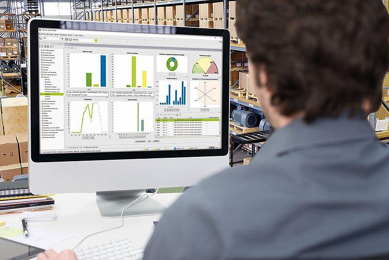 یکی از قابلیت های نرم افزارهای انبارداری ارائه گزارش است.