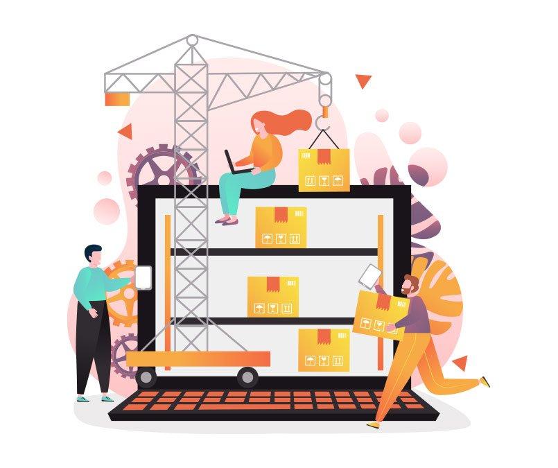 سیستم مدیریت انبار می تواند برای هر سازمان سفارشی سازی شود.